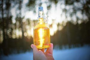 как убрать спирт из настойки