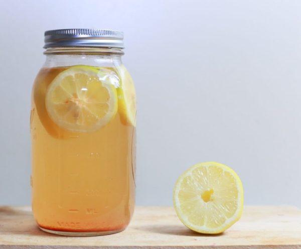 уксус с лимоном