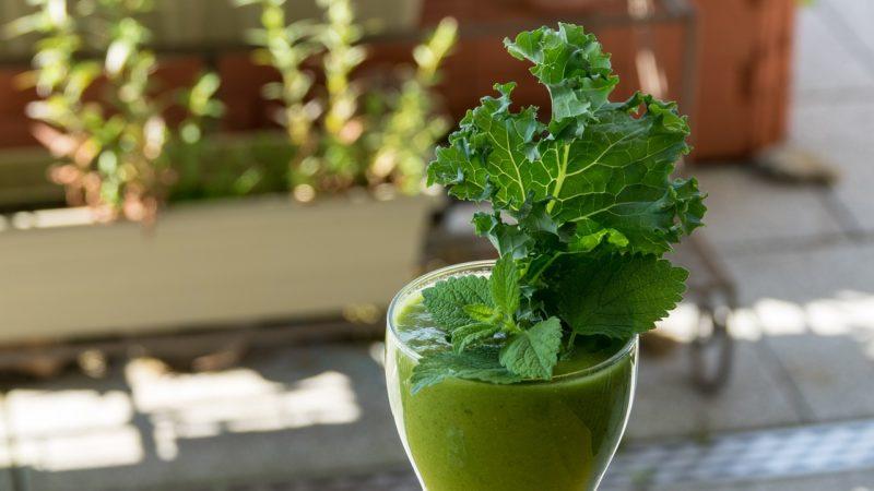 базовый рецепт зеленого коктейля