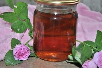 Свойства розового сиропа